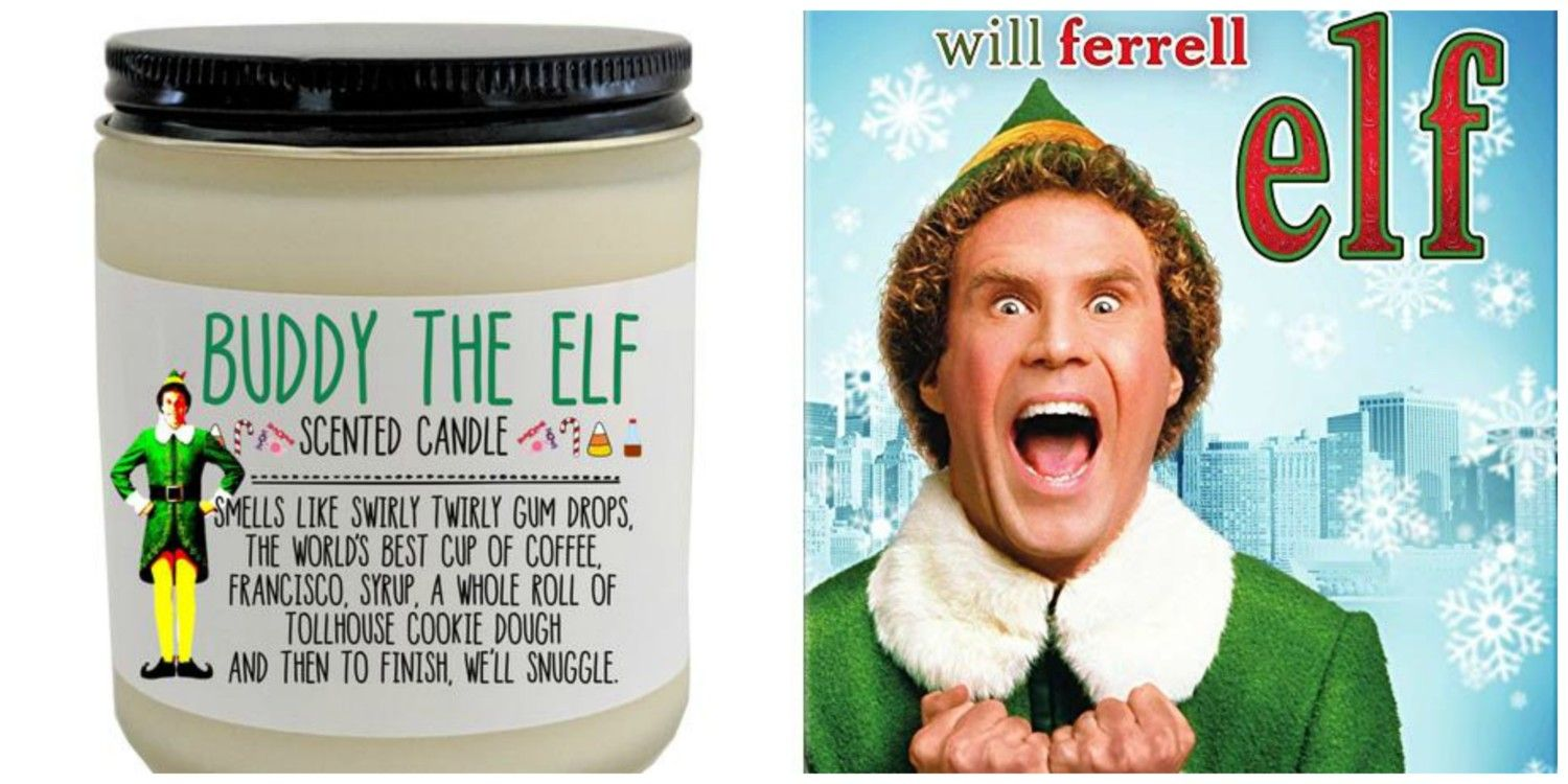 You Can Buy A Buddy The Elf-Scented Candle That Smells Like 'Swirly Twirly Gum Drops And Cookie Dough' #scentedcandles