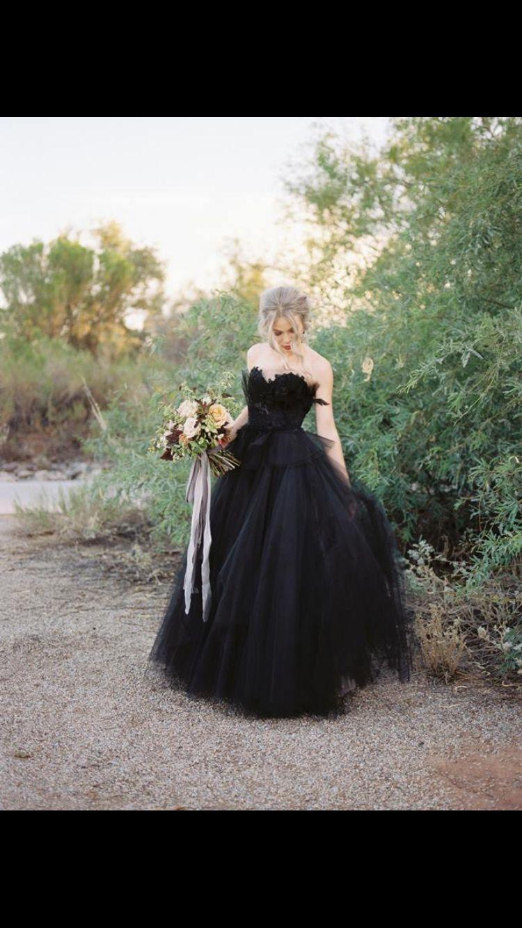 9f34291247621c Black bride Zwarte Bruidsjurken