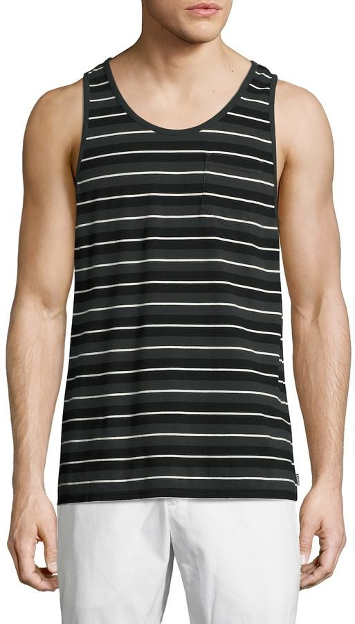 75f06e5035d22 BANKS Men s Baker Striped Tank Top