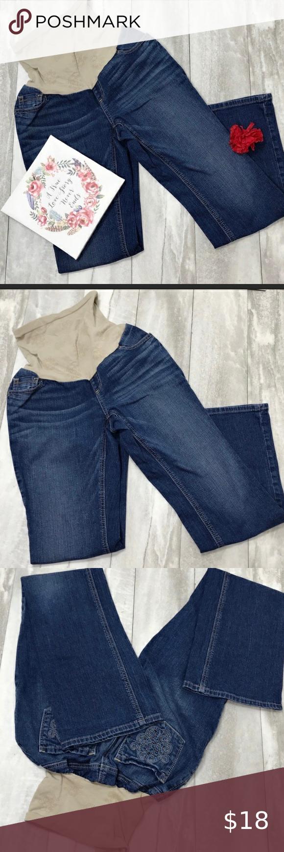 Jessica Simpson Maternity Jeans Size Large Jessica