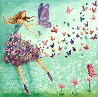 Resultado de imagem para Mila Marquis borboletas
