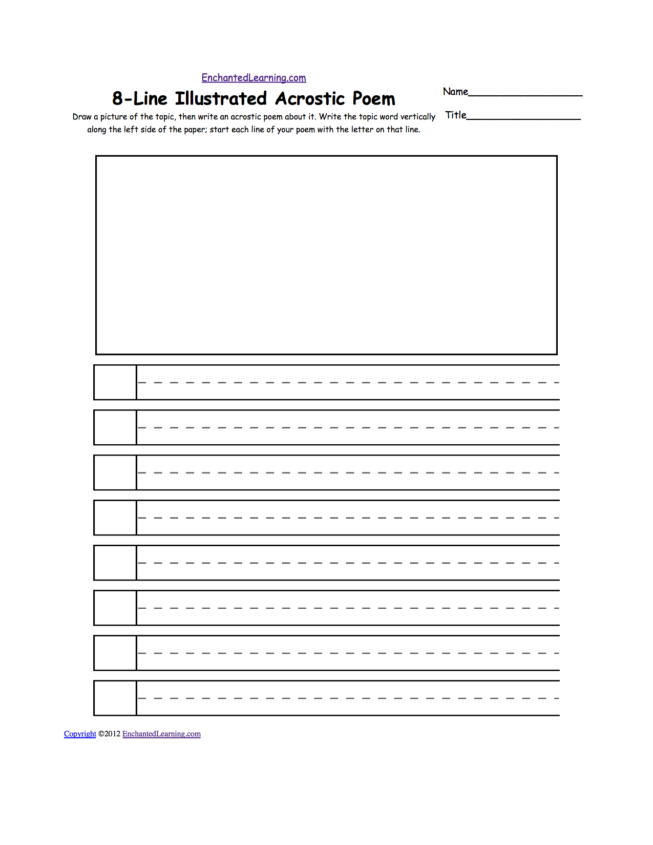 Free writing worksheets for middle school