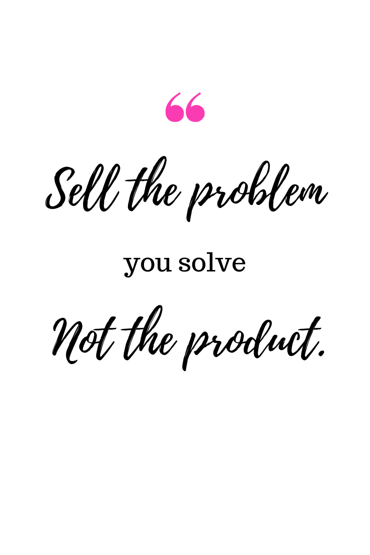 Sell your solution to your audience, explain how your