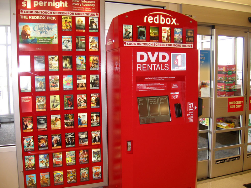Red Box one day DVD BlueRay Disc or Video game rental
