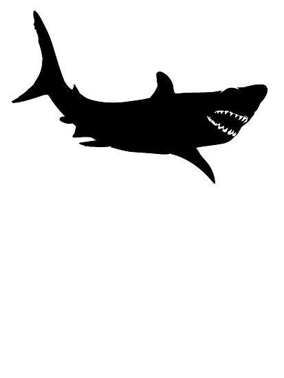 Shark silhouette. Clipart best templates