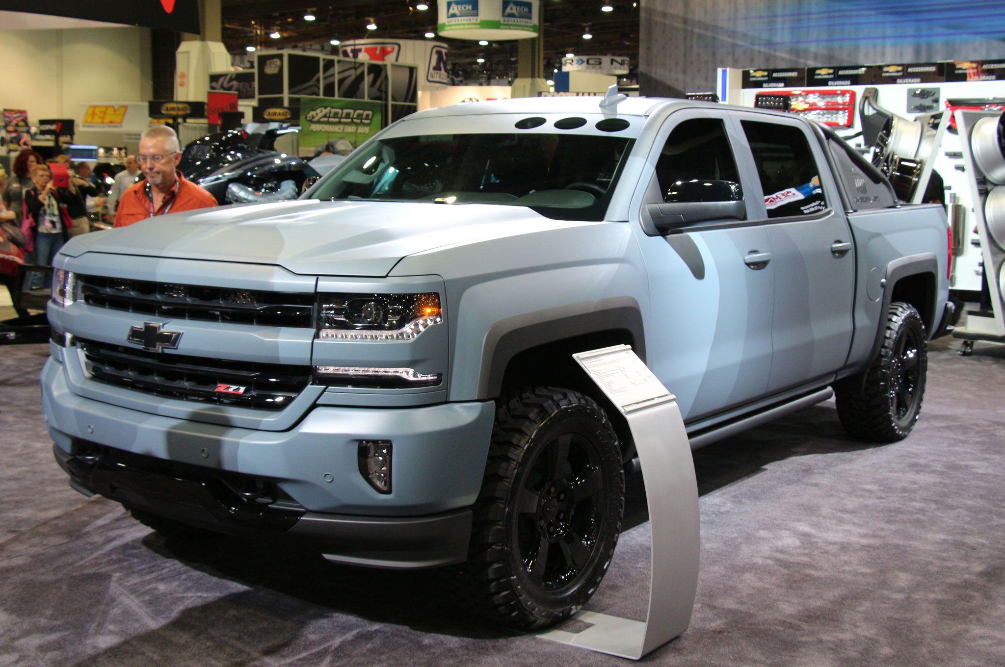Chevrolet Silverado Special Ops Concept Custom Trucks