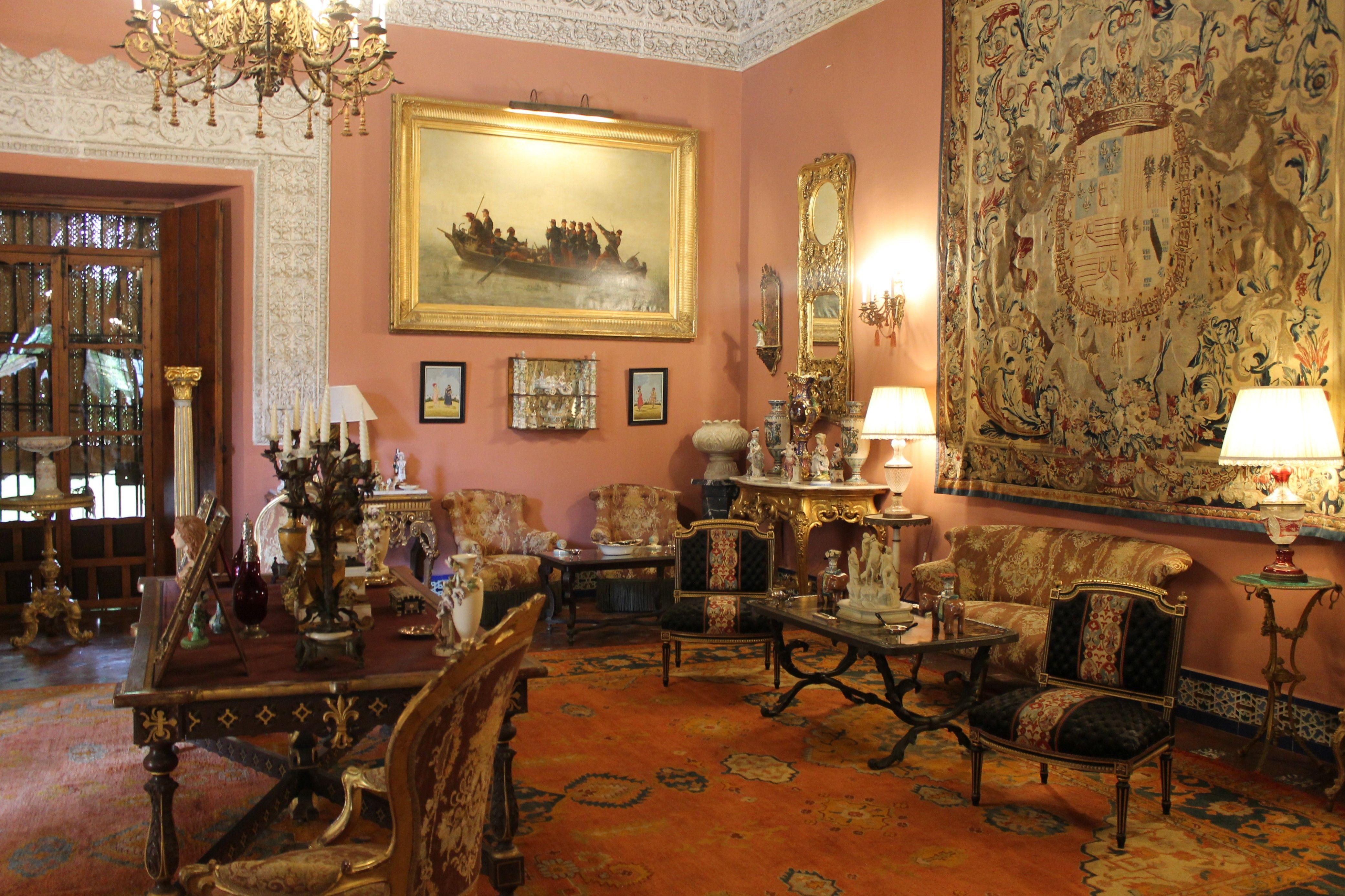 Palacio De Las Due As Sevilla Interiores De Andaluc A  # Muebles Vega Monclova
