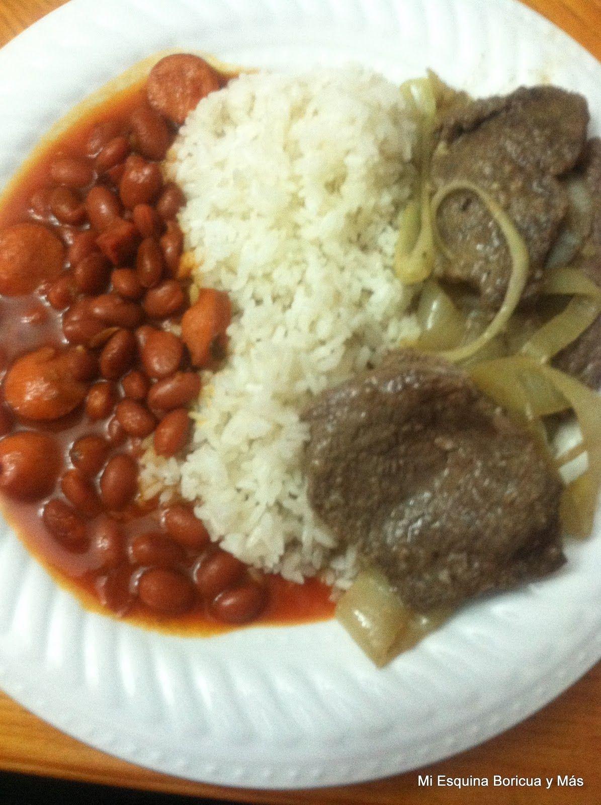 Mi esquina boricua y m s arroz blanco grano corto - Arroz blanco con bacalao ...