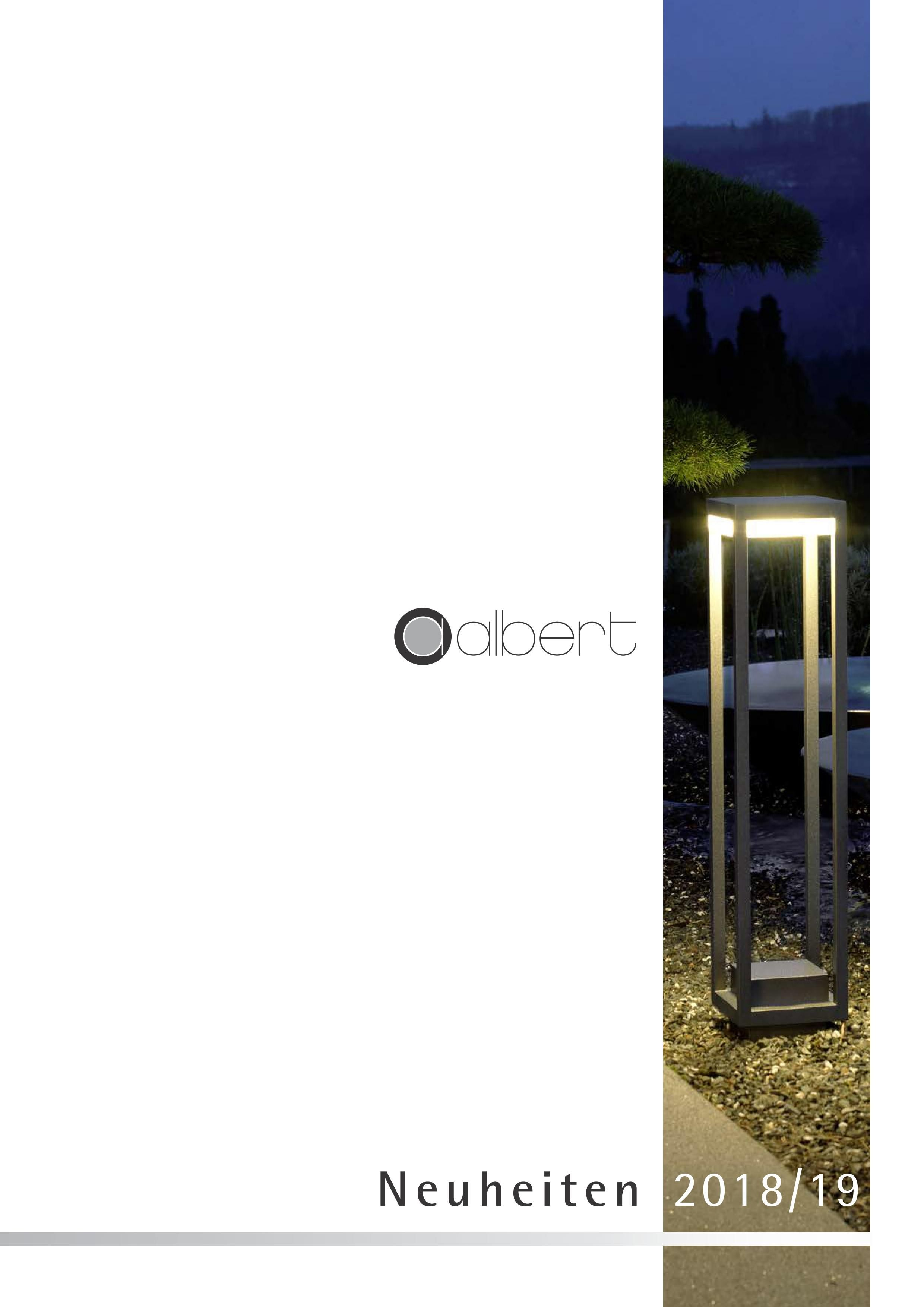 Info Albert Leuchten De Albert Leuchten Der Prospekt Neuheiten 2018 19 Ist Lieferbar Aussenleuchten Fur Den Bes Albert Leuchten Aussenleuchten Led Leuchtmittel