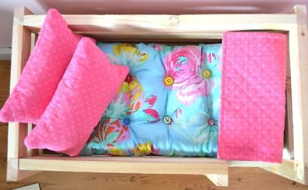 Doll bed mattress tutorial...pretty sure Chloe needs this for Ariel's night night! #Sleepys