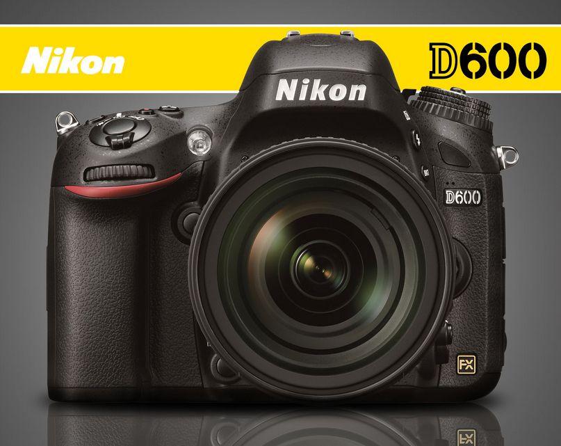 Nikon D600 DSLR FX Full-Frame Camera #imagescameras | Leica, Canon ...
