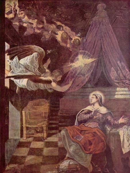 Anunciación, 1576-1581