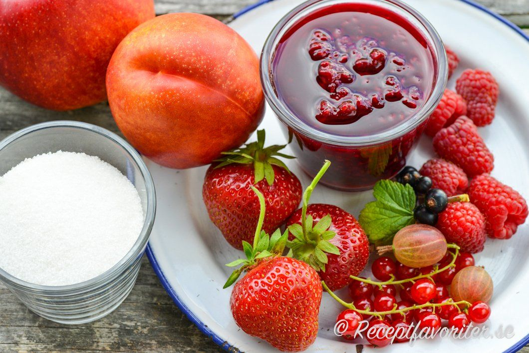 blåbärssylt recept syltsocker