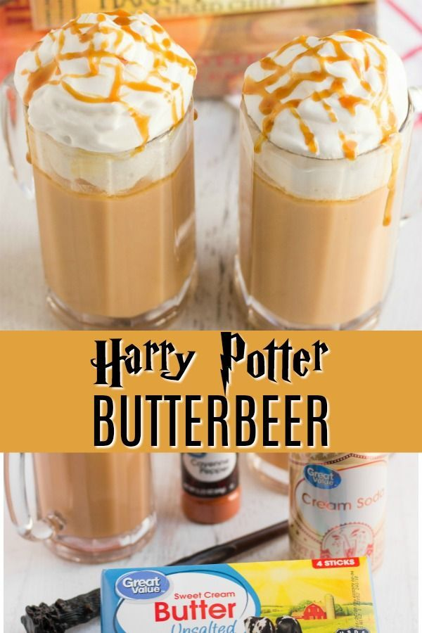 The very best Hot Butterbeer recipe outside of the Wizarding World of Harry Pott…