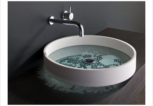 Clear sink