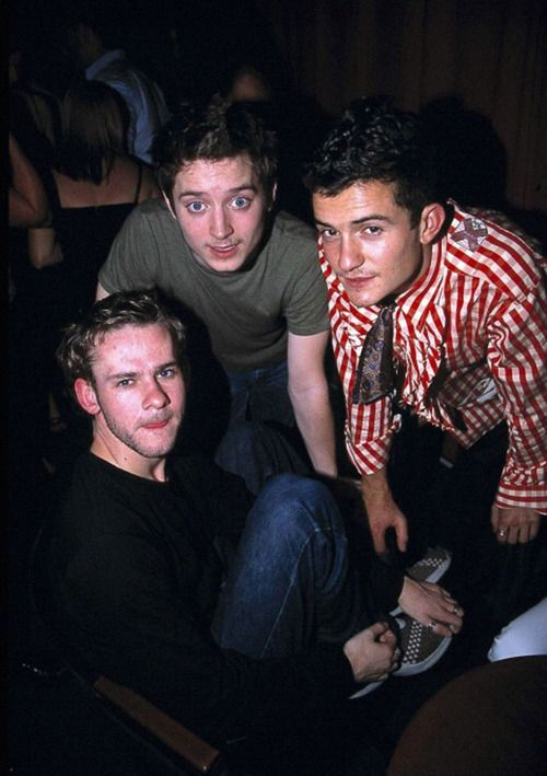 Dominic, Elijah, and Orlando