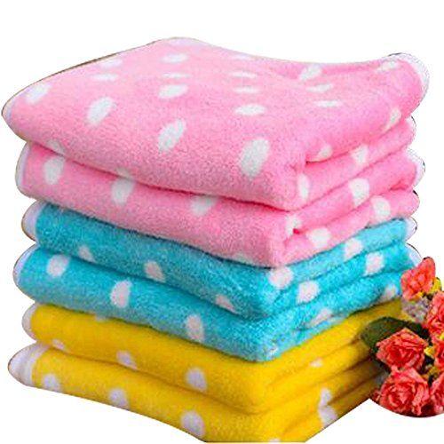 Colorful Dot Blanket for Pets 2 Size Dog Cat Bed Mat S5070cm Pink -- Click image for more details.