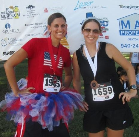 I just registered for this! Liberty Run 5K/1 Mi Walk- Denton 4th of July.