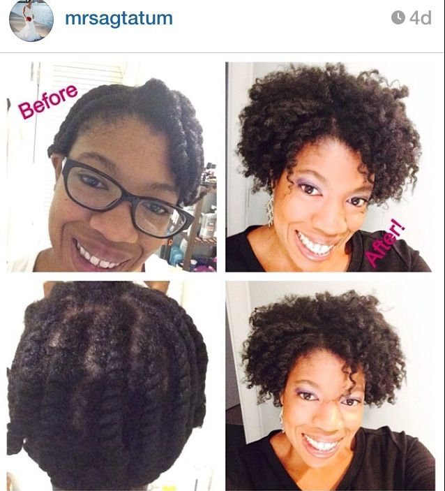 Flat Twist Out Natural Hair Used Miss Jessie Curly Pudding