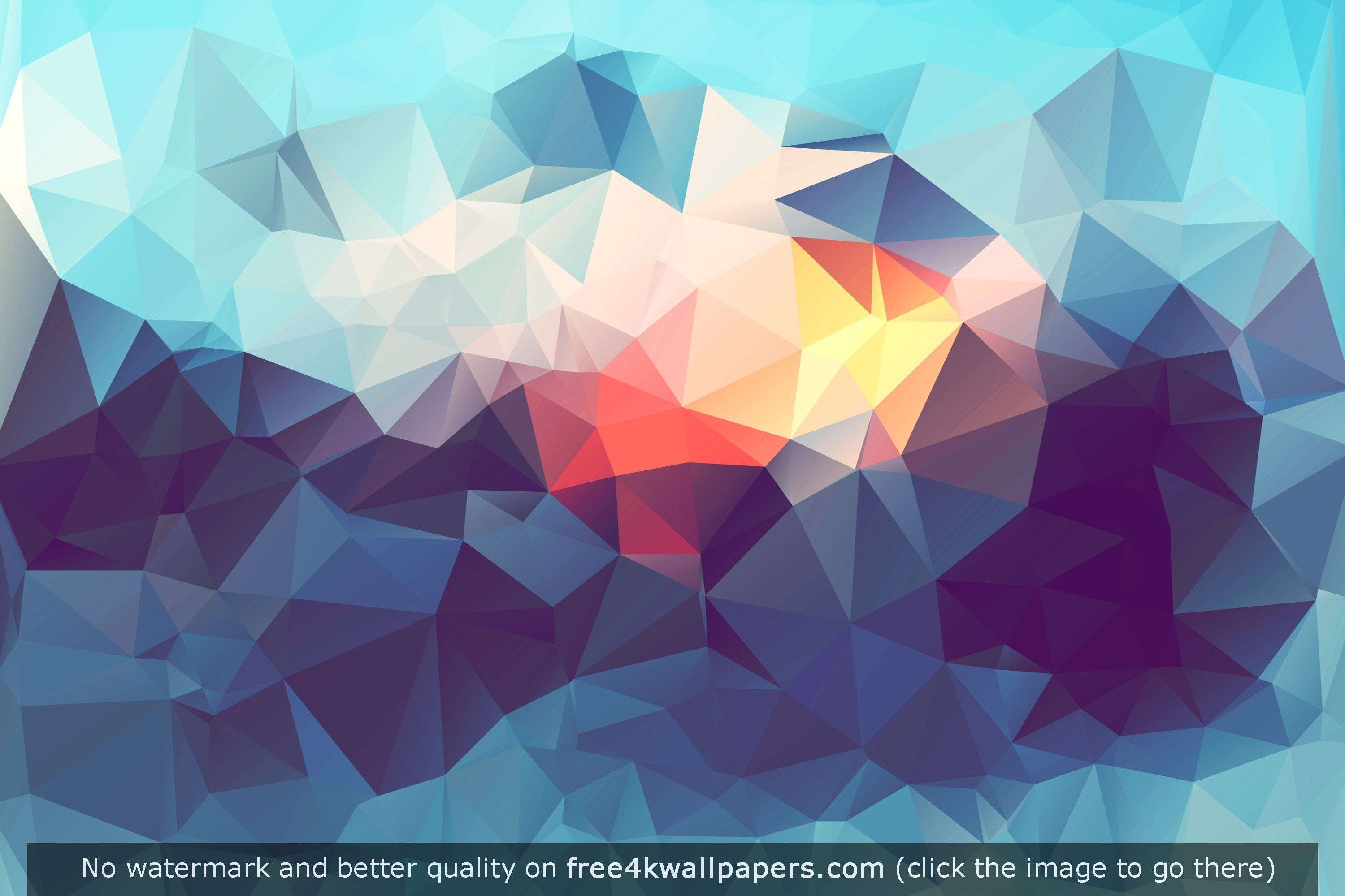 abstract low poly wallpaper