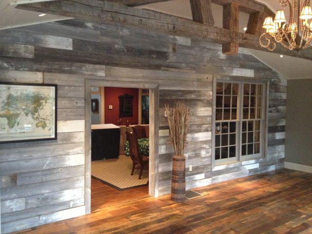White Gray Barn Wood Wall By Reclaimed Designworks