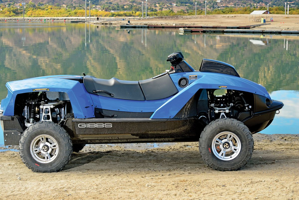 The Quadski Features An Innovation Suspension That Allows The