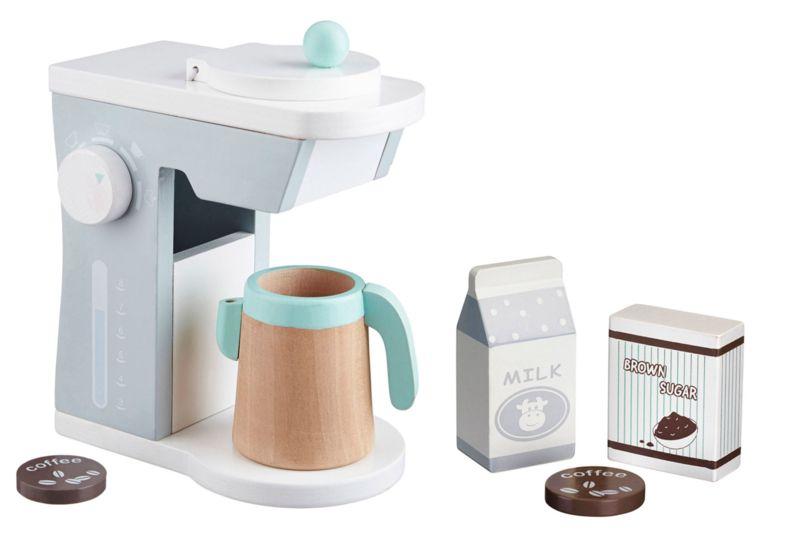 Houten Keuken Speelgoed : Houten speelgoed koffiezet apparaat van kids concept bij