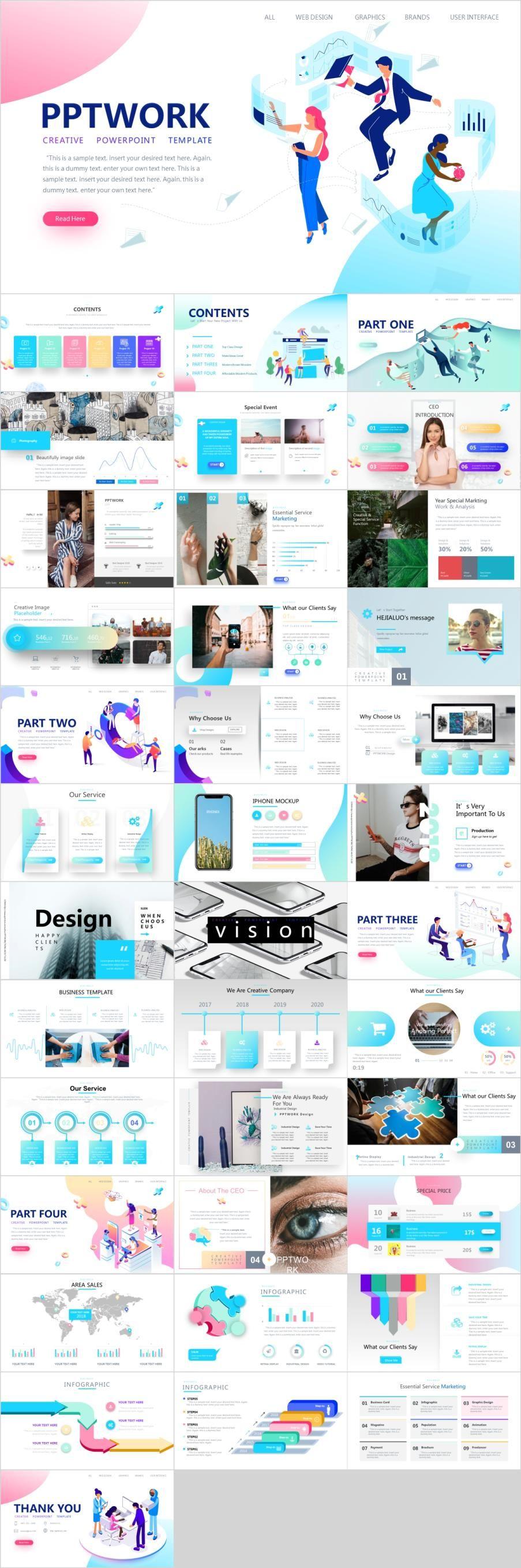 38 Best Web Ui Design Powerpoint Template Relate Pinterest Ui