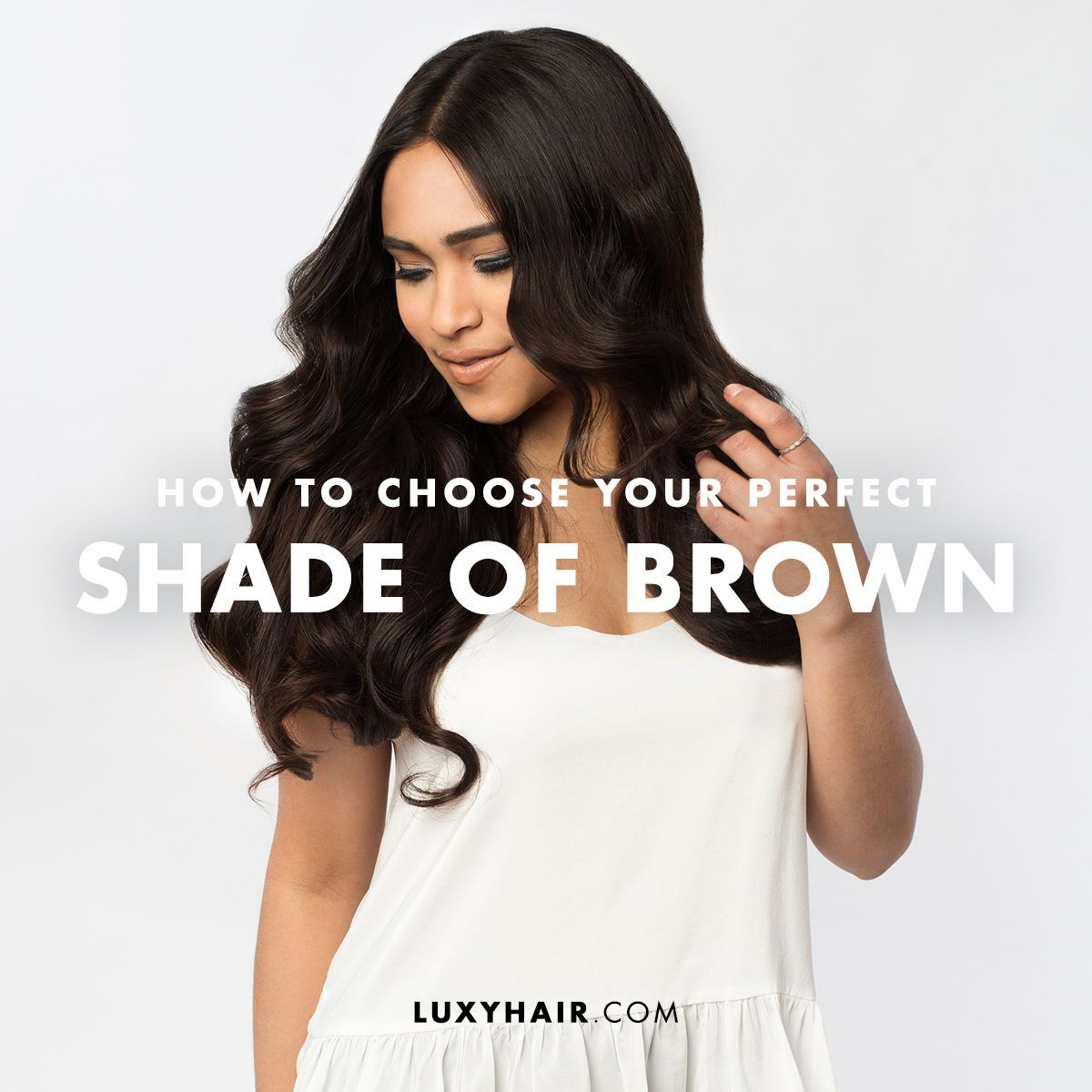 How To Choose Your Perfect Shade Of Brown Clip In Hair Extensions