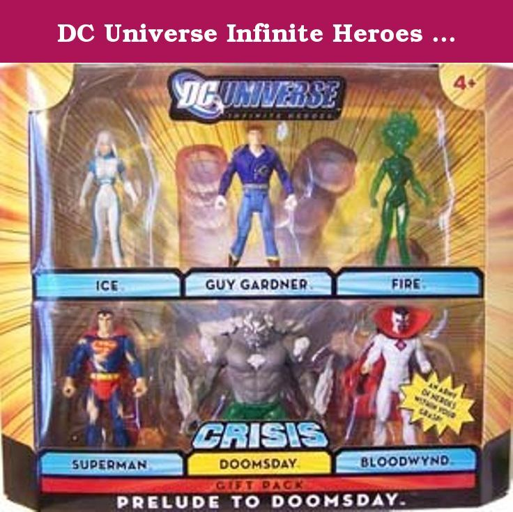 Dc Universe Infinite Heroes Prelude To Doomsday Gift Pack Dc
