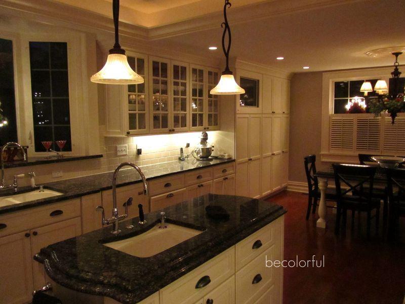 Dark Kitchen At Night shorelinebenjamin moore. | color ideas | pinterest | benjamin