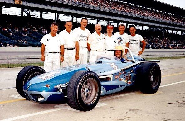 Bob Harkey, 1964 Indianapolis 500 Rookie finished 8th. #indy500