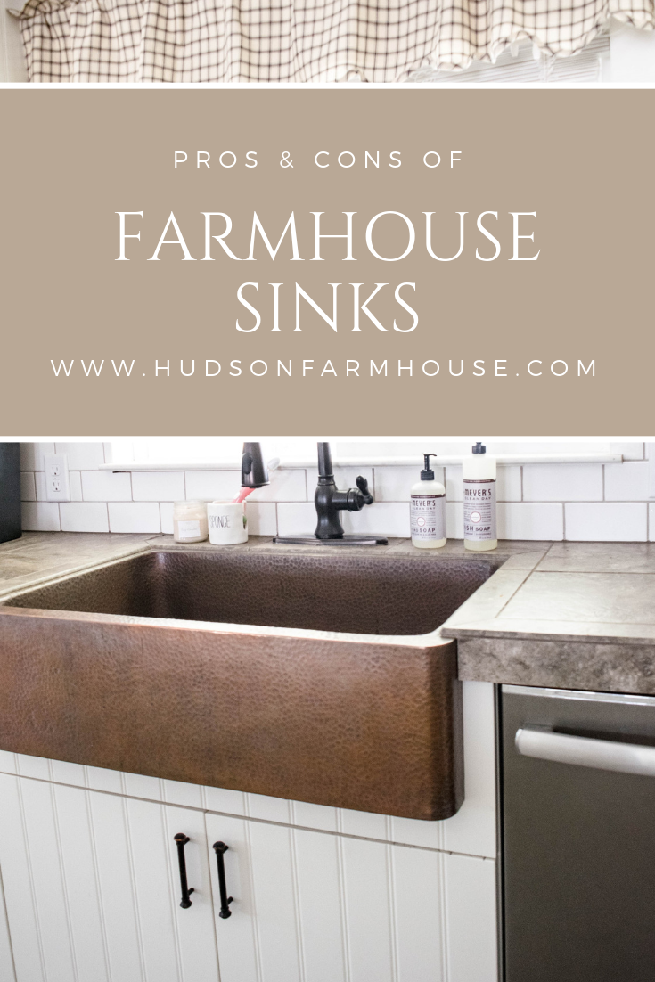 Pros And Cons Of Farmhouse Sinks My Honest Review Farmhouse