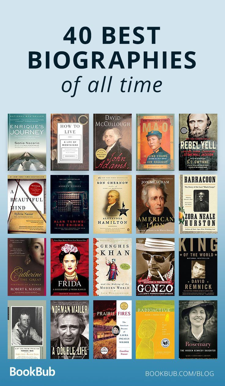 The 40 Best Biographies You May Not Have Read Yet