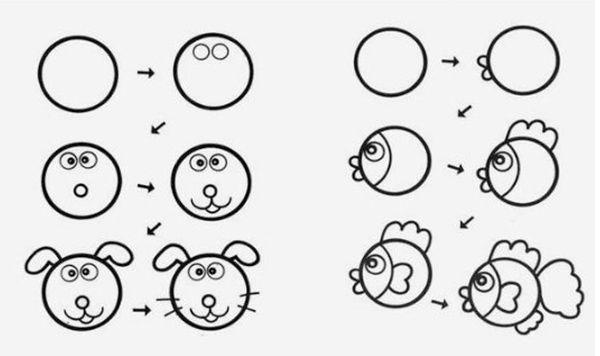 Como Dibujar Animales Faciles Pequeocio Como Dibujar Animales Faciles Como Dibujar Animales Dibujos De Animales