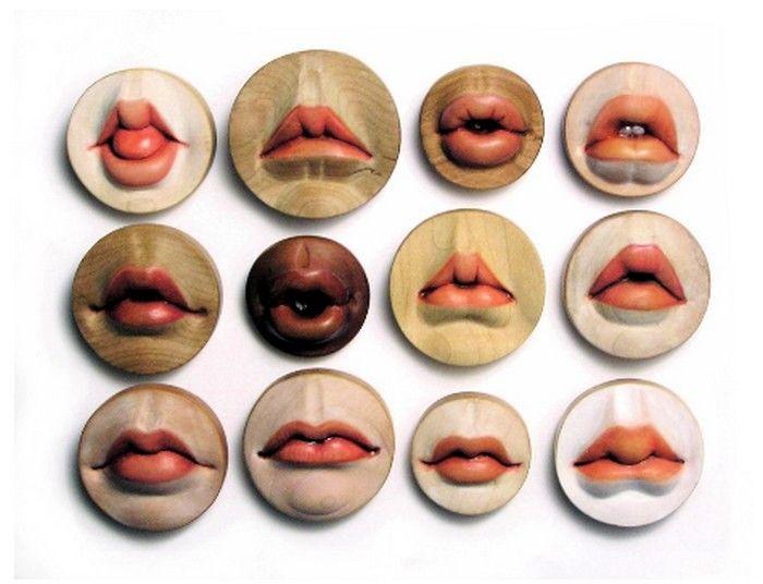 Как сделать губы для куклы