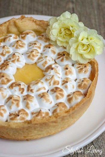Weltbeste Tarte au citron - Zitronentarte #bananadessertrecipes