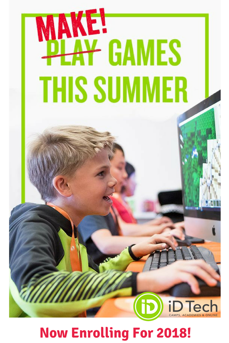 The 1 summer tech camp for ages 718 at Stanford, MIT