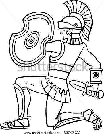 Roman Soldier To Colour In Ks2 Yahoo Image Search Results