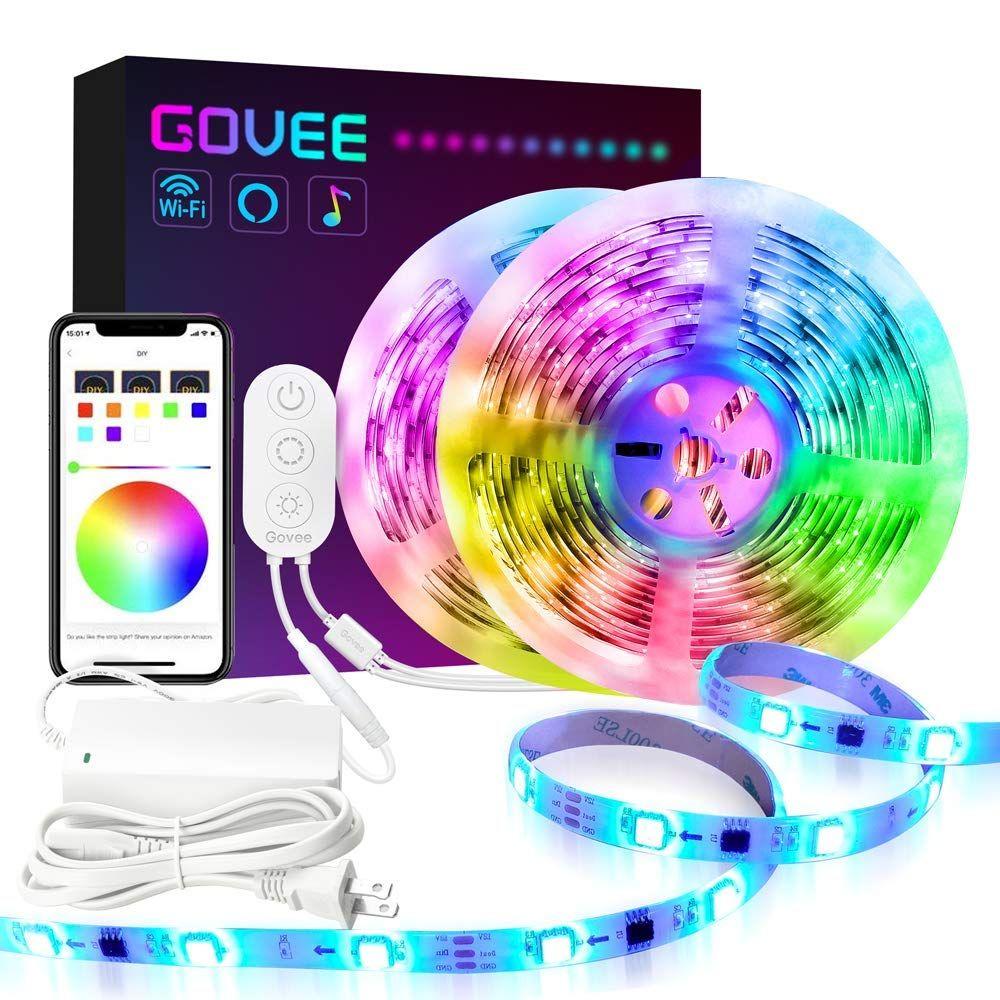 Dreamcolor led strip lights govee 164ft wifi