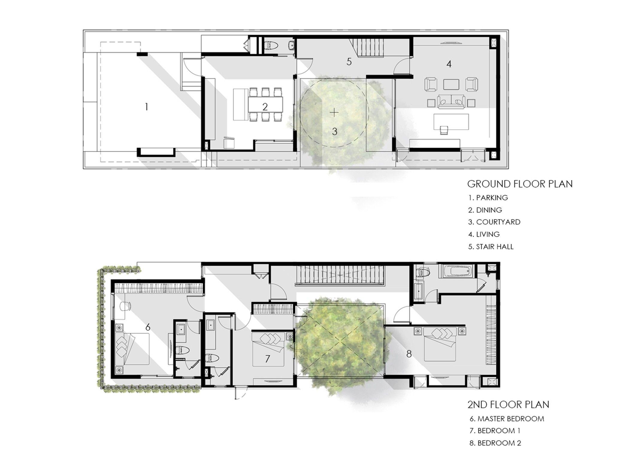 I House Gooseberry Design Arch2o Com Denah Rumah Arsitektur Arsitektur Modern