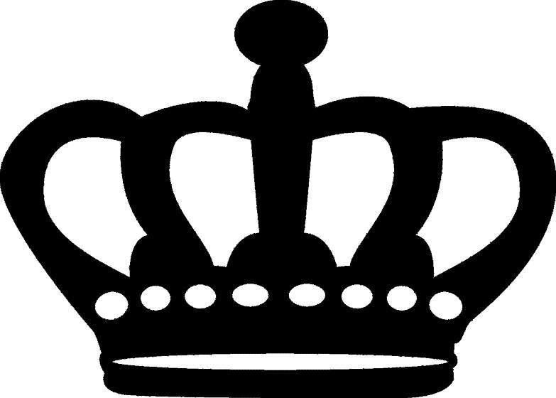kroon kronen plotterpatronen silhouet prinsessen en