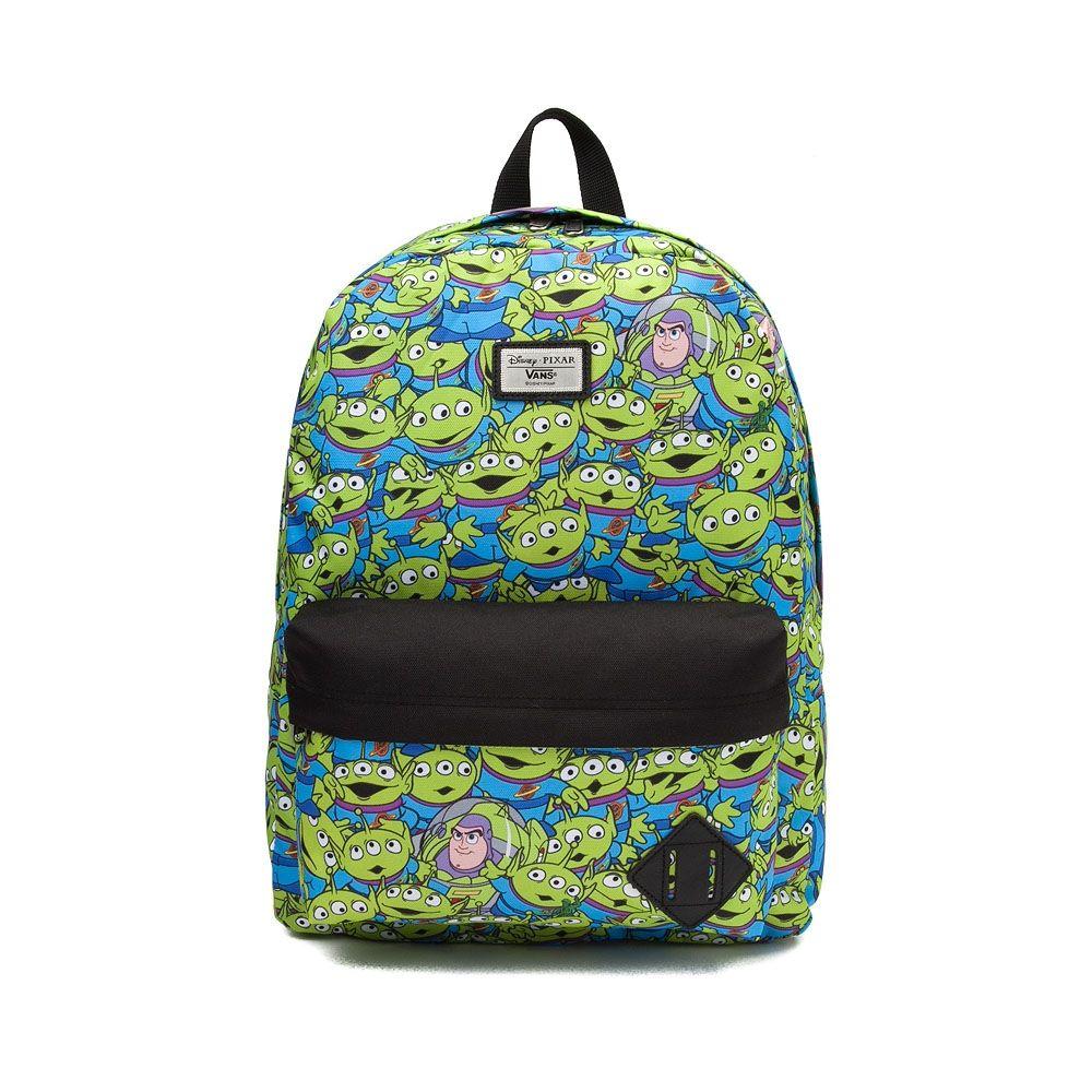 6a31397e69c Vans Toy Story Aliens Old Skool Backpack