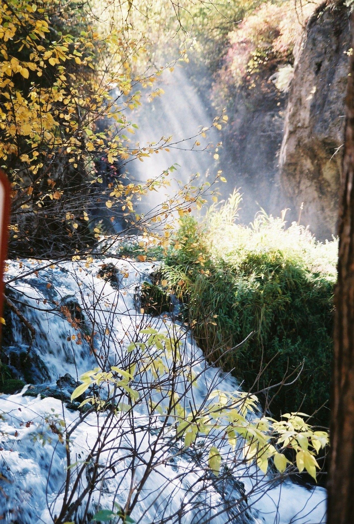 Roughlock Falls Spearfish Canyon Fall