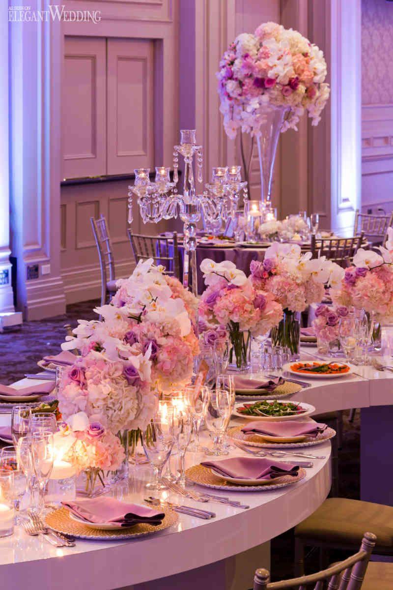 Beautiful Pink and Purple Wedding   Purple wedding, Purple wedding ...