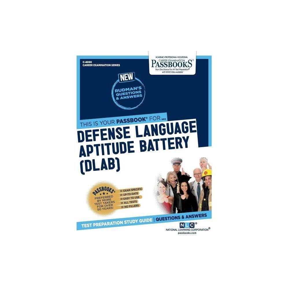 Defense Language Aptitude Battery Dlab Career Examination By