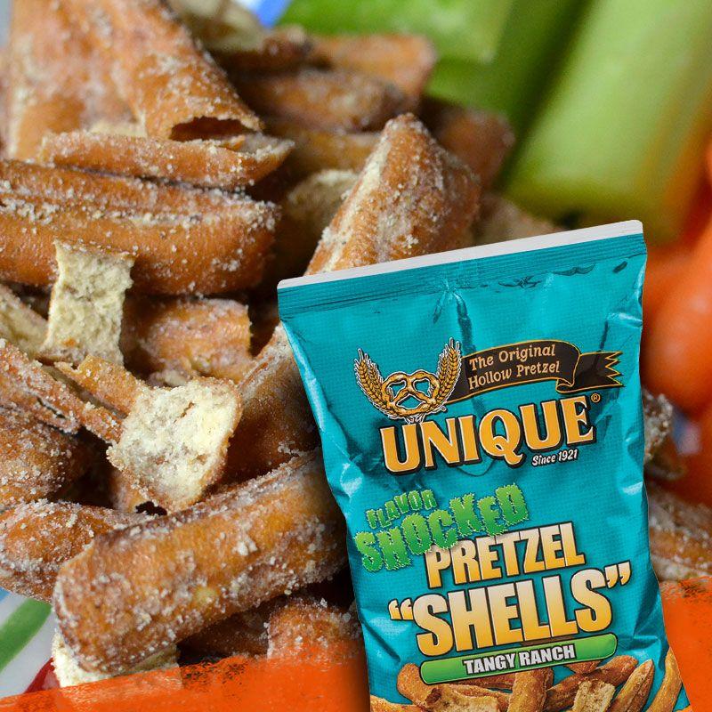 Tangy ranch flavor shocked pretzel shellsan alltime