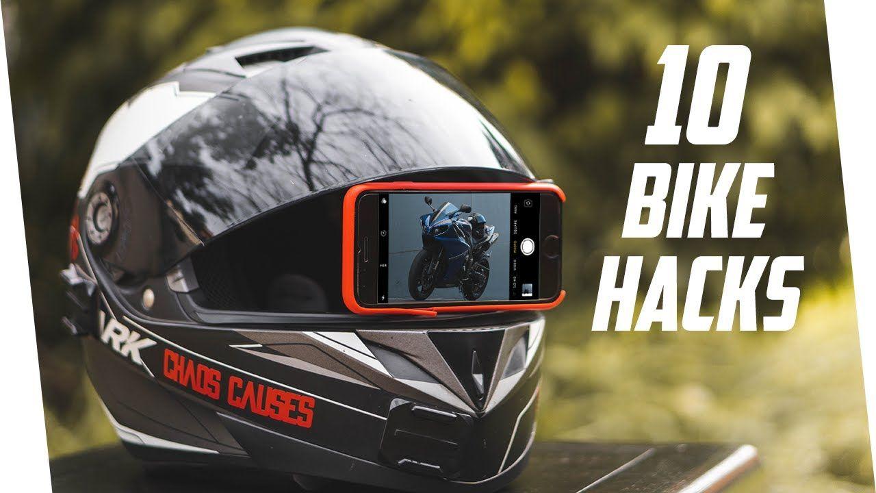 10 Motorcycle Life Hacks Motorcycle Hacks Motorcycle Tips