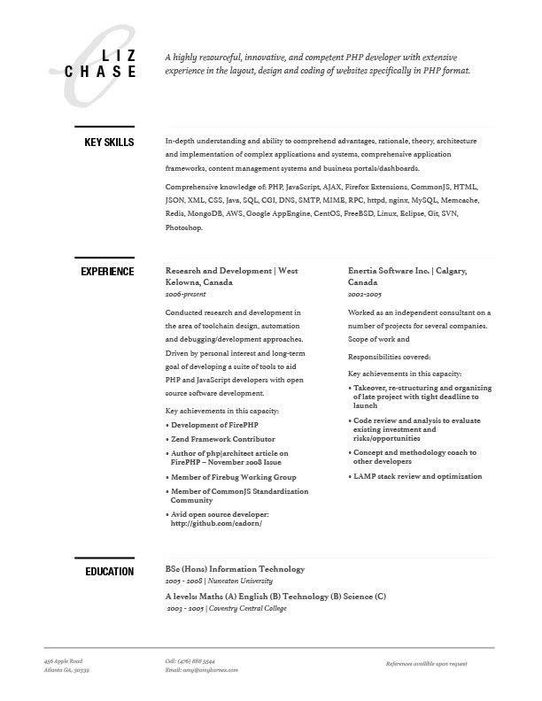 Chase Resume Found Resumes Resume Resume Design Design