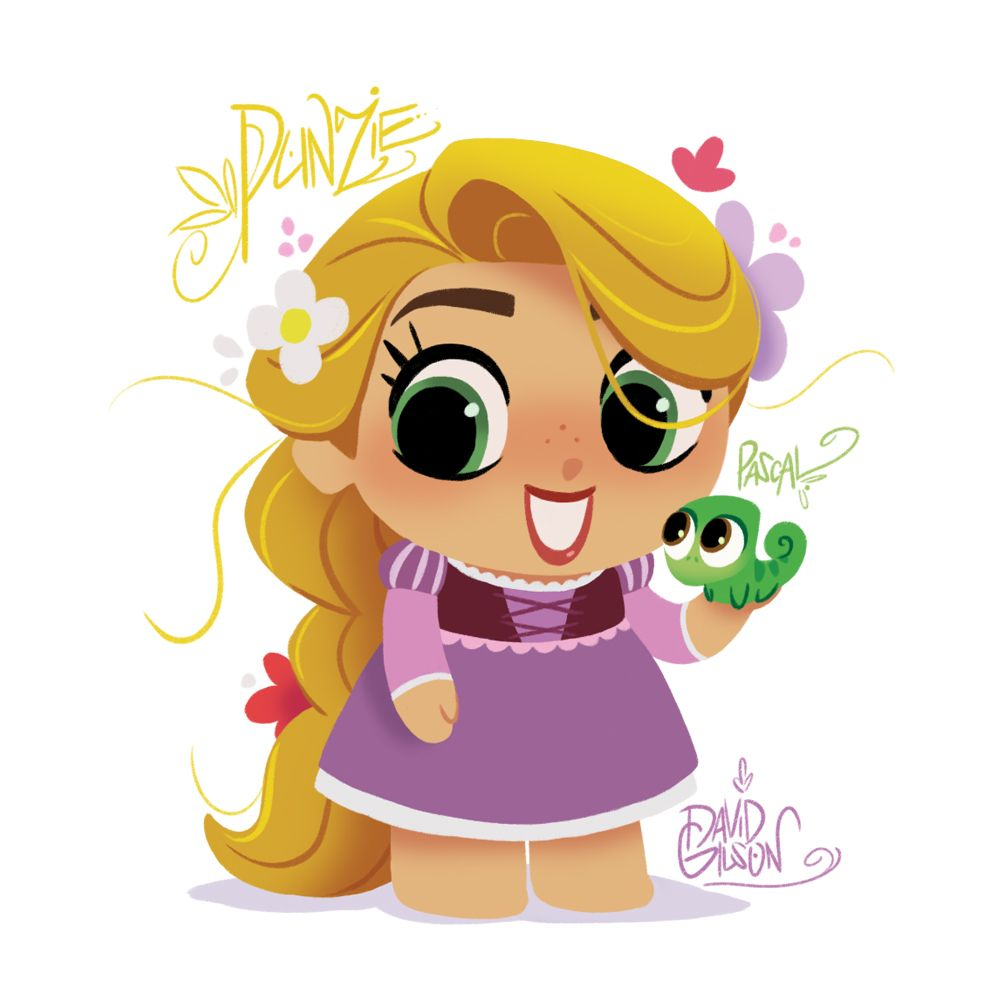 "FR-: Chibie / Fanart de Raiponce (et Pascal) dans le style du téléfilm et de la série à venir de Raiponce. EN-: Chibie / Fanart of Rapunzel (and Pascal) in the upcoming Disney's ""Tangled the Series"" and ""Tangled Before Ever After"" style. Follow my..."